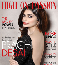 High On Passion Magazine September 2013 - cover