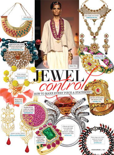 Asian bride magazine Jewellery AB38